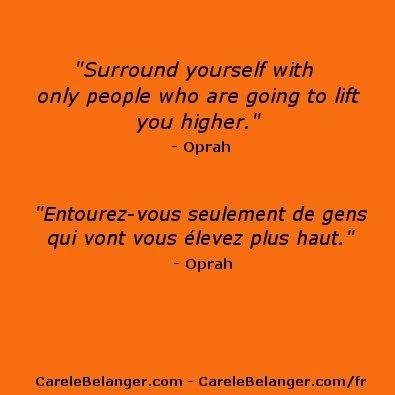 #quote from #Oprah  #citation de Oprah
