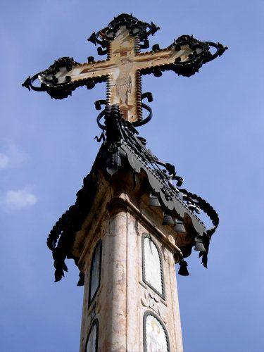 A plague column in Szentendre