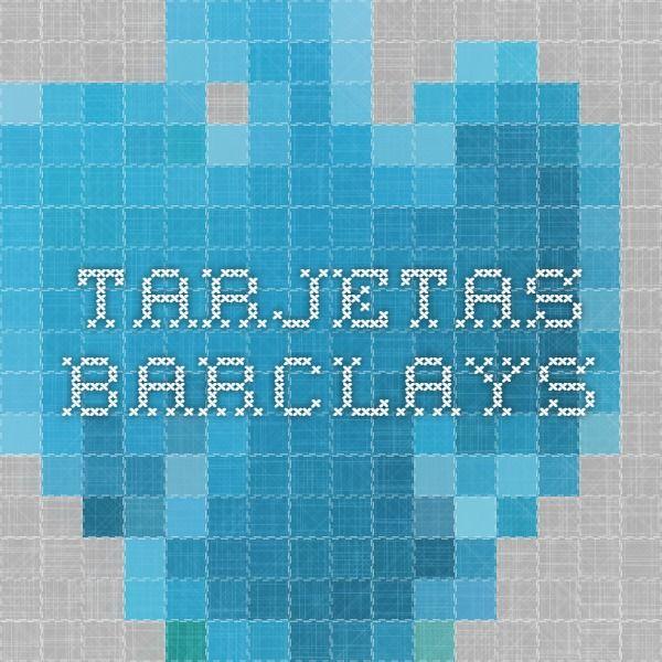 Tarjetas Barclays