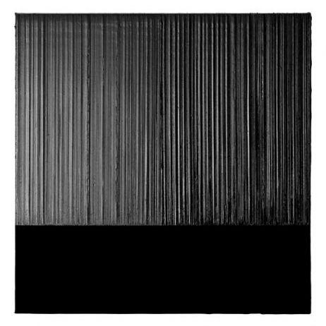 Pierre Soulages, Peinture 130 x 130 cm, 6 mars 2012