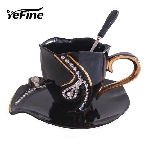 YeFine Chinese Kung Fu Tea Set Drinkware Ceramic T…