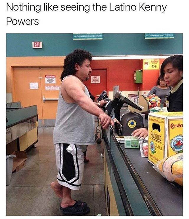 The Spanish Kenny Powers - http://absurdpics.com/funny/the-spanish-kenny-powers/