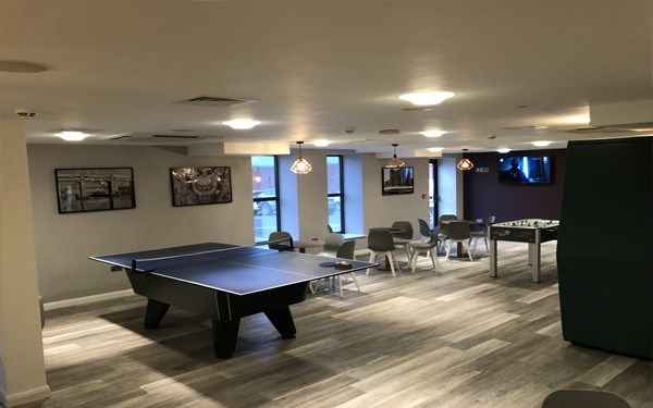 Another view of our newly refurbished common room