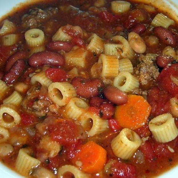Crock pot Pasta Fagioli   Gonna try it!