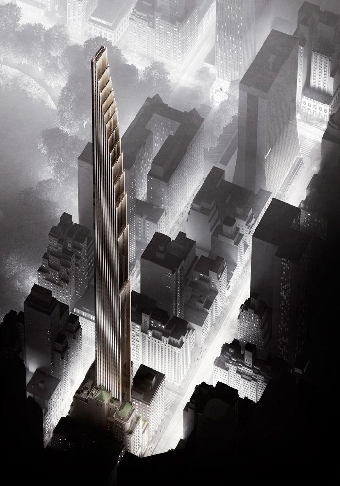 111 West 57th Street New York, New York. Developed by JDS Development Group. Designed by Studio Sofield. www.111w57.com