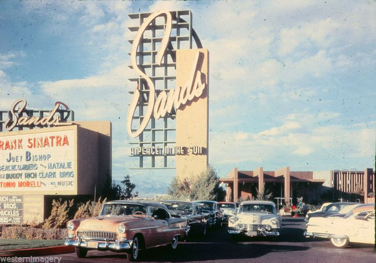 Sands Hotel 1950's Las Vegas NV .
