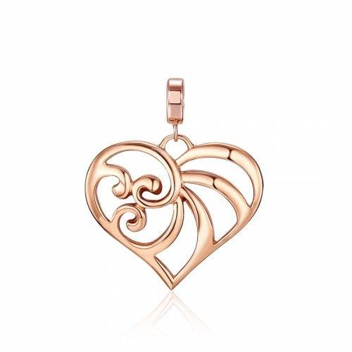 KAGI Rose Gold Cherish Pendant - Medium