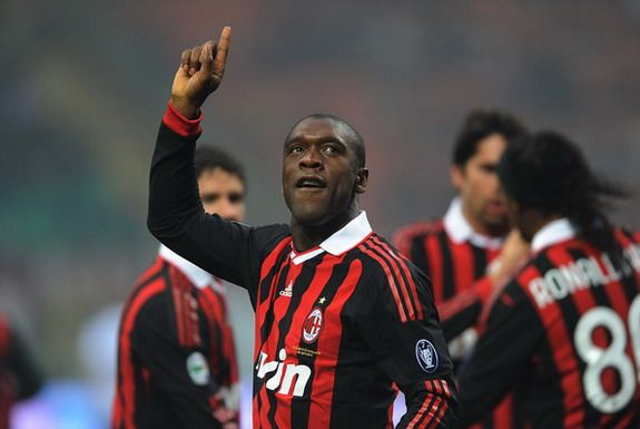 Clarence Seedorf hangs up boots to become AC Milan coach