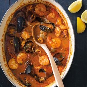 Catalan fish stew, zarzuela, with its flavorful combination of fish and shellfish, is named after a centuries-old form of Spanish musical theater known for ... read more