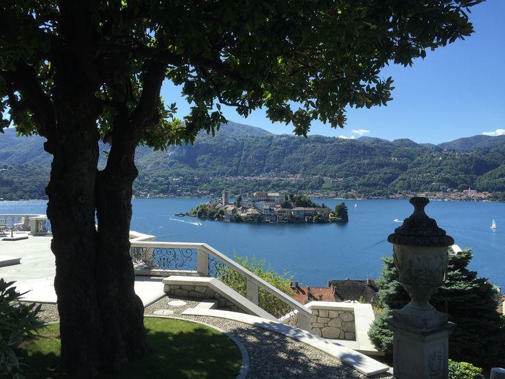 Beautiful Lake Orta.