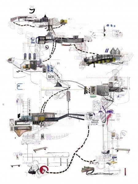 15 best cognitive maps images on pinterest architecture for Movement architecture concept