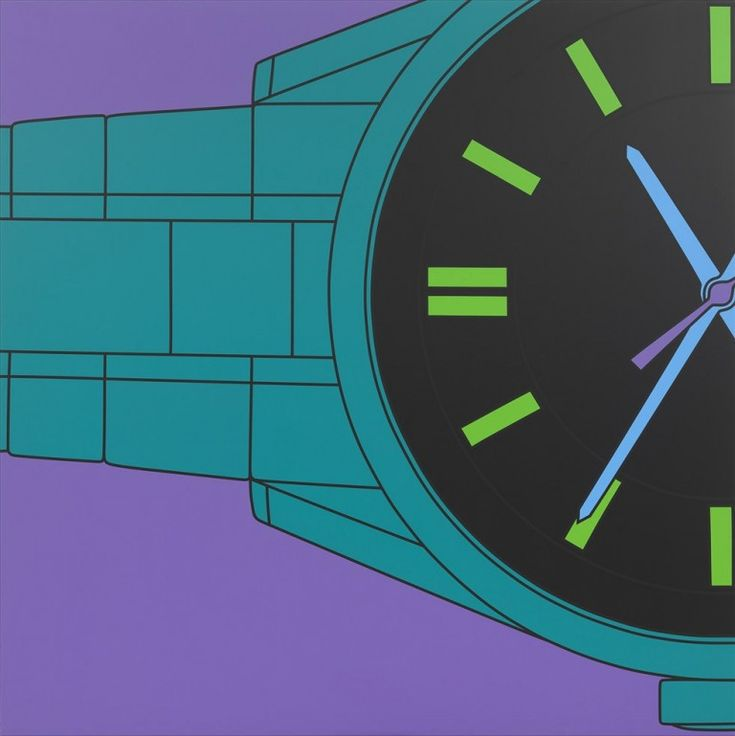 Michael Craig-Martin RA's UNTITLED (WATCH) at the RA Summer Exhibition 2015