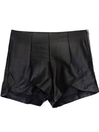 Leather short - must have for summer.