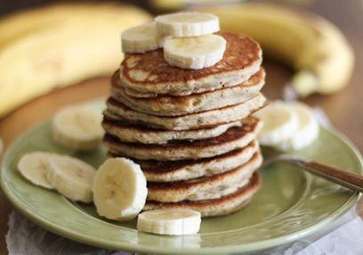Crêpes aux bananes sans gluten