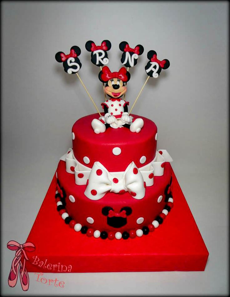 105 Best Images About Mickey Mouse And Minnie Cakes Miki