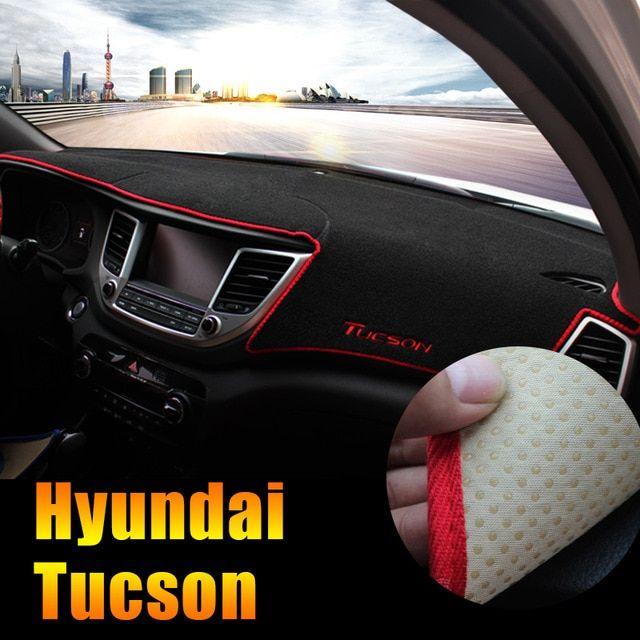 For Hyundai Tucson 2015 2016 2017 2018 Lhd Car Dashboard Avoid Light Pad Instrument Platform Desk Cover Mat Carpets Accessory Review Carpet Accessories Desk Cover Hyundai Tucson