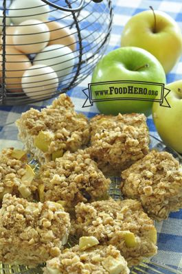 Apple Spice Baked Oatmeal | Food Hero - Healthy Recipes that are Fast, Fun and Inexpensive