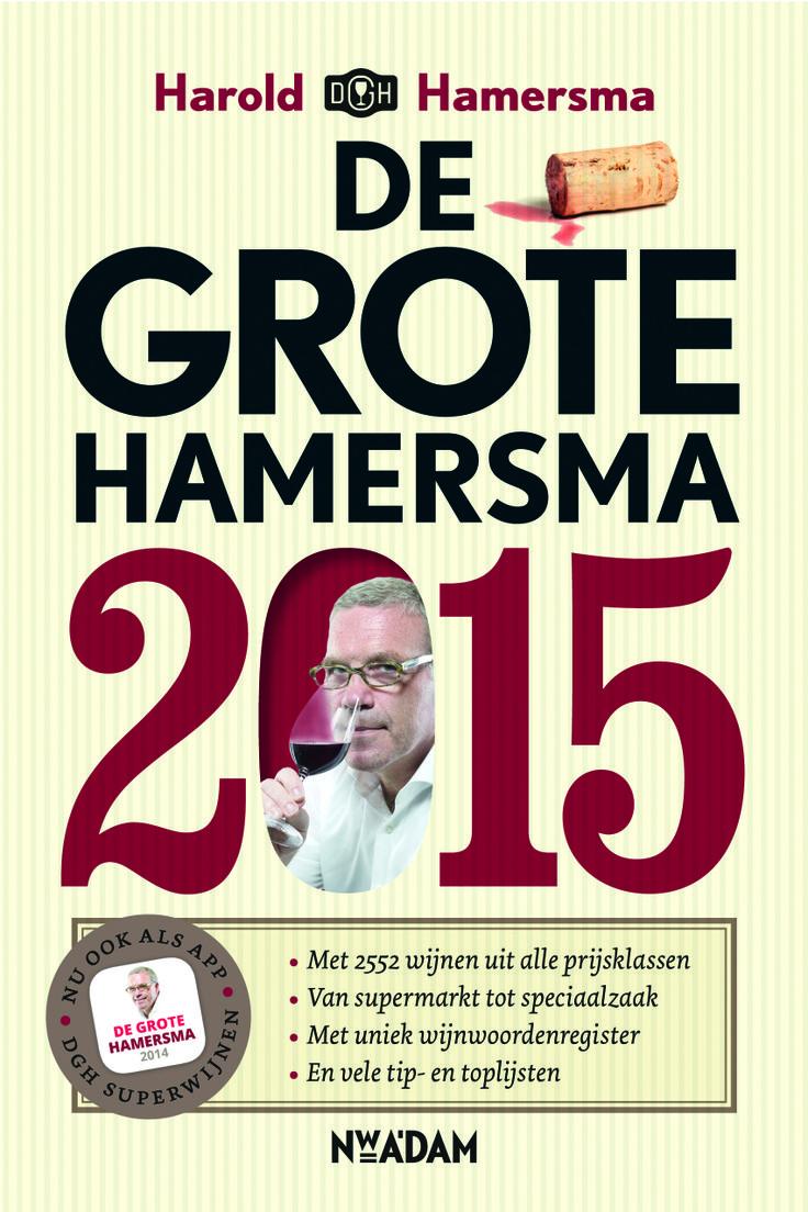 Harold Hamersma deelt, zoals ieder jaar, zijn heerlijke wijnproefnotities met ons in De Grote Hamersma. Wederom met een bijbehorende app!  Boek en app verschijnen in september.