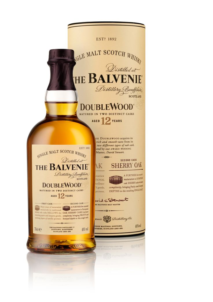 """The Balvenie - 12 year Double Wood. The nose has vanilla, honey and some sherry and fruits. The nose reminds me of the 14yo Caribbean Cask (I didn't like that one that much, but this 12yo dw is different) The taste is quite different than the nose; more """"aggressive"""" but in a good way. The sweetness makes place for more spiciness. The finish is  short... really short. I disagree with Balvenie's own notes: """"Long and warming"""" for the finish. Overall, still awesome, pleasant and easy dram…"""