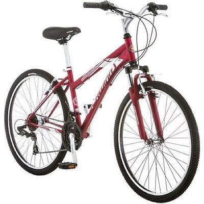 Mountain Bikes For Women Beach Cruiser Comfort Girls Men Adult 26 Inch 21 Speed1  Gender - Unisex Adult, Color - Red, Number of Gears - 21, Frame Size - 26, Type - Mountain Bike, UPC - 38675073333