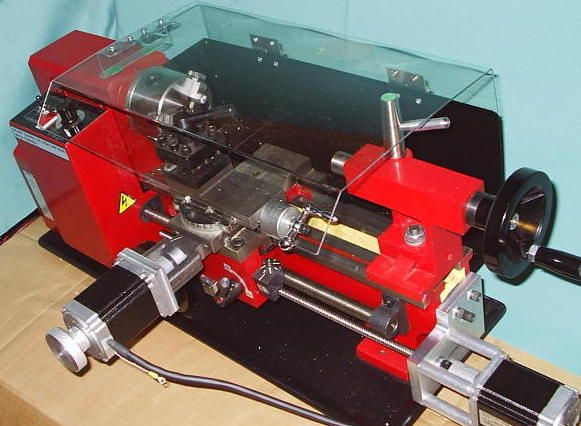 Cnc conversion kit for mini lathe pinterest
