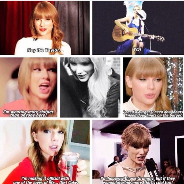 """I'm happy with one grammy, but if they wanna give me more that's cool too!"" Oh Tay."