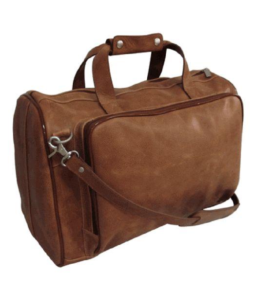 Коричневые кожаные сумки на выходные