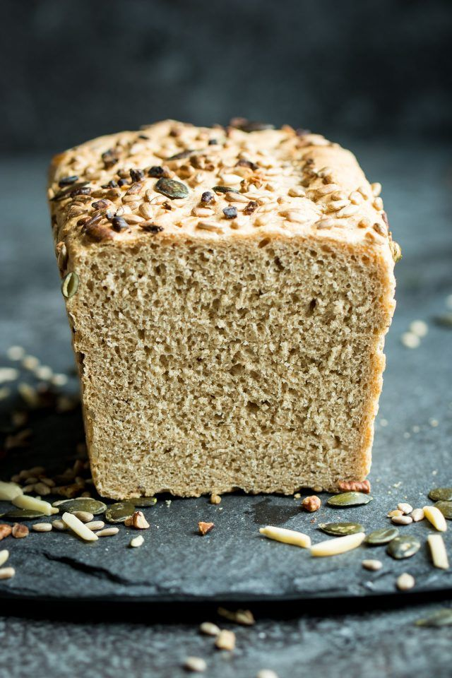 A healthy, wholewheat spelt loaf. Try making your own homemade bread to give your sandwiches a whole new level of amazingness this week!