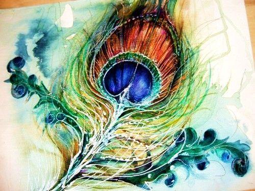 /Watercolors Tattoo, Peacock Feathers, Tattoo Ideas, Feathers Art, A Tattoo, Feathers Tattoo, Peacocks Feathers, Watercolors Painting, Peacocks Tattoo