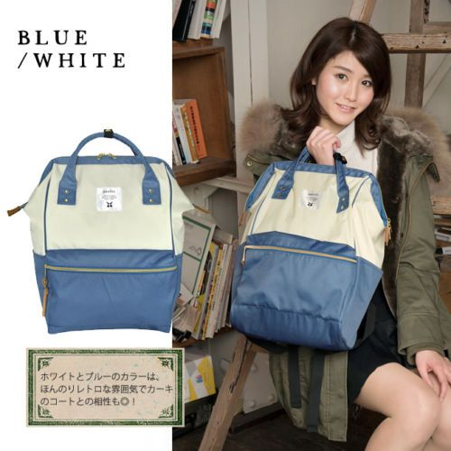 Anello-Japan-LARGE-Backpack-Hot-Selling-Rucksack-Canvas-Japan-Quality-School-Bag