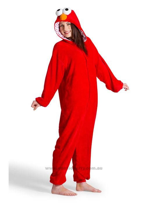 Elmo Adult Onesie
