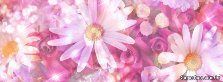 Capas para facebook de Flores Diversas
