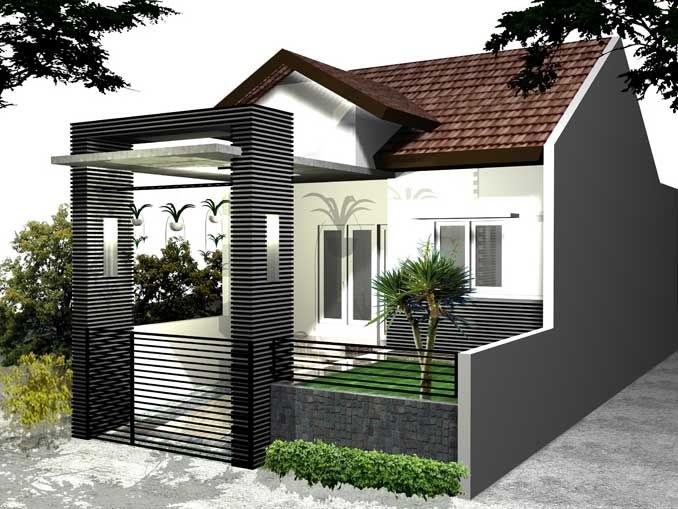 Model Pagar Rumah Minimalis - http://www.rumahidealis.com/model-pagar-rumah-minimalis/