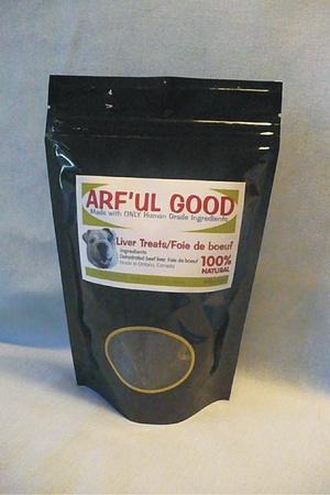 Beef Liver Treats 200g, $11.49, www.arfulgood.com