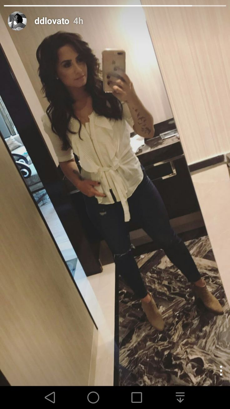 Demi Lovato instagram story