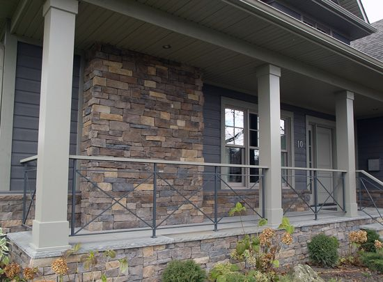 Faux Stone Veneer Panels ~ http://modtopiastudio.com/awesome-design-of-splendid-stone-veneer-houses/
