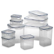 Lock & Lock® Food Storage Containers (Set of 20) - Really would like a set of these. This set is from Bed, Bath, and Beyond - but I think you can find them almost anywhere (Target for instance) They MUST be the Lock & Lock brand... I like those the best!