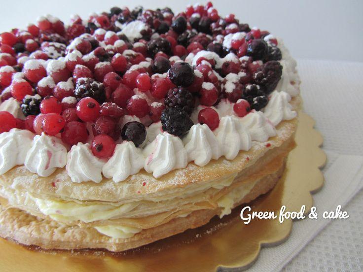 Italian Sfoglia Cake Recipes: 1000+ Images About Torta Millefoglie Wedding Cake On