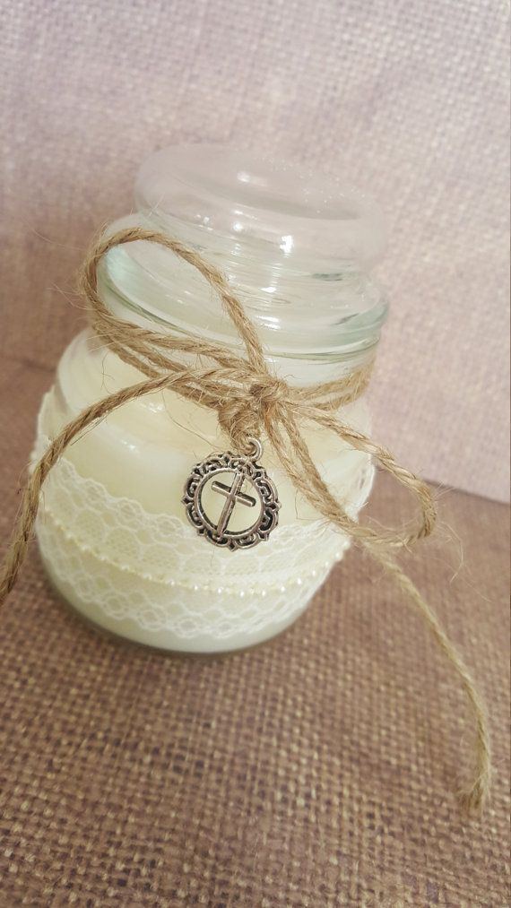 24x Communion Candle Favors by MyPrettyLittleParty on Etsy
