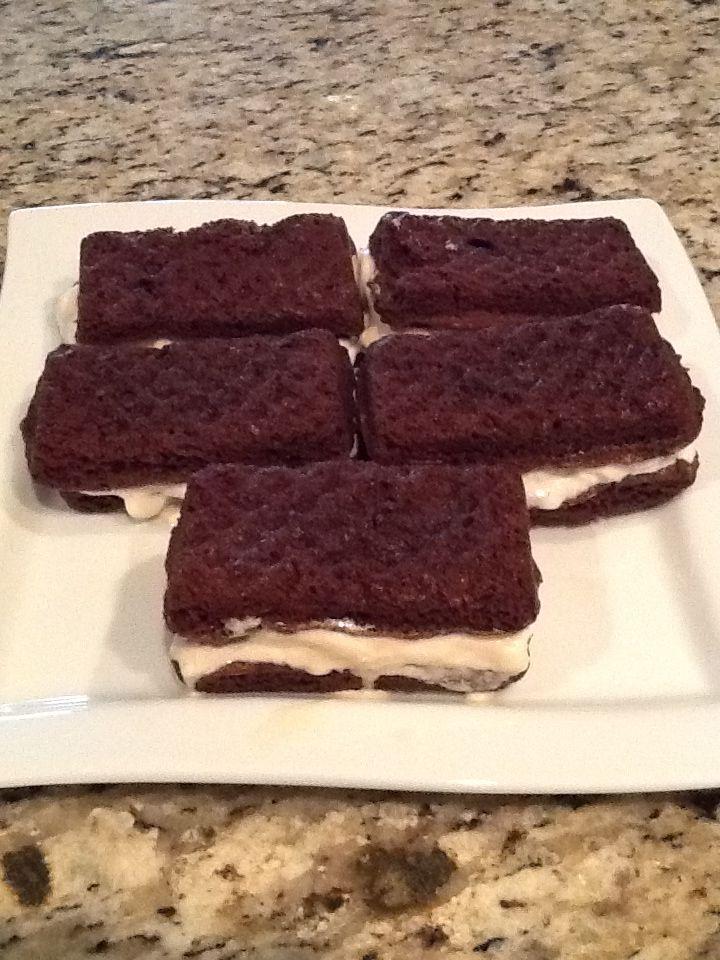 Home made ice cream sandwiches