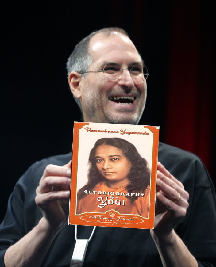 Without Meditation There Is No Apple Autobiography Of A Yogi Steve Jobs Biography Steve Jobs