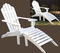 adirondack chair stuhl alster stuhl holz wei garten pinterest stuhl holz stuhl und. Black Bedroom Furniture Sets. Home Design Ideas