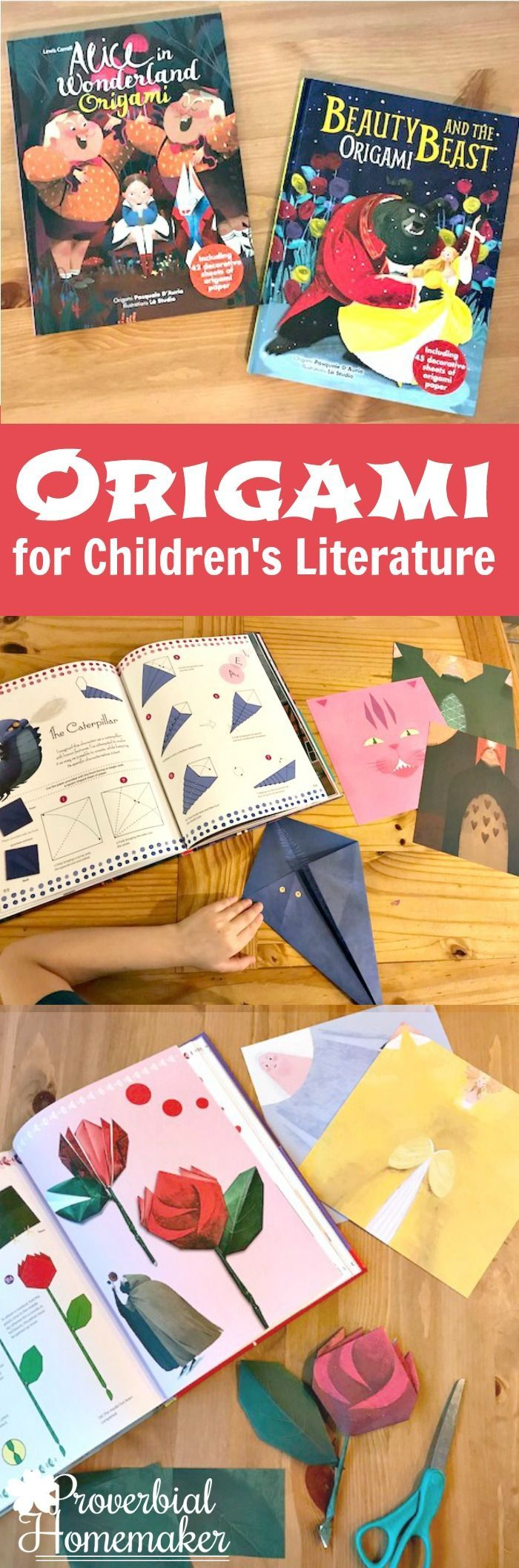 Kids Origami Sets for Children�s Literature via @TaunaM