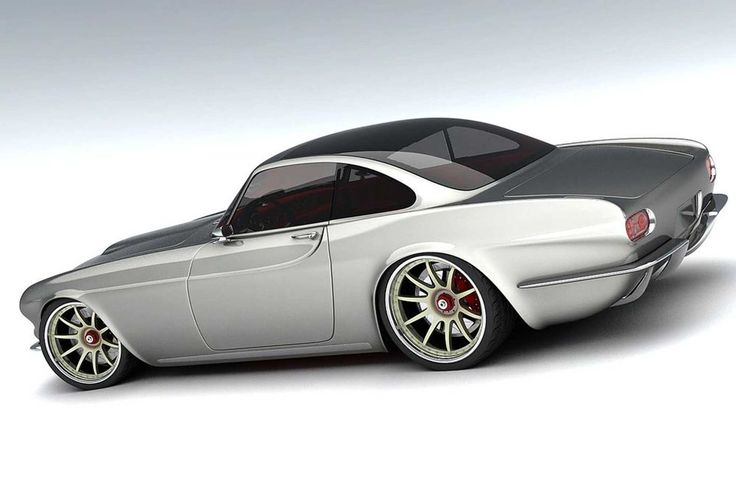 volvo p1800 concept car i like to waste my time picture