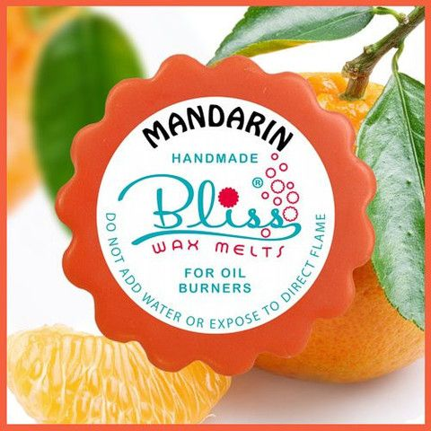 Mandarin scent is a favourite for children and parents. This playful wax melt scent promises to lift and brighten any mood while trapping you in its fruity sweetness