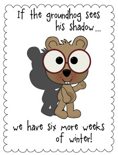 Classroom Freebies Too: FREE Groundhog Day posters for your classroom.