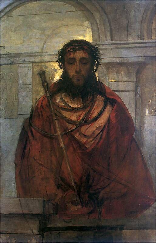 Ecce Homo by St. Albert Chmielowski.