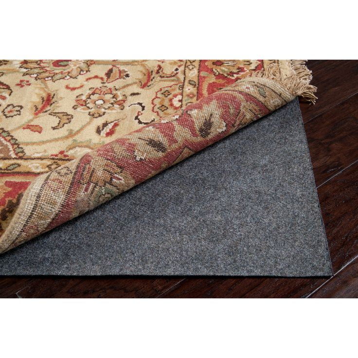 Secure Grip Pvc Rectangular Rug Pad: 5 Ft. X 8 Ft. Surya Rug Pads & Accessories Rugs Home
