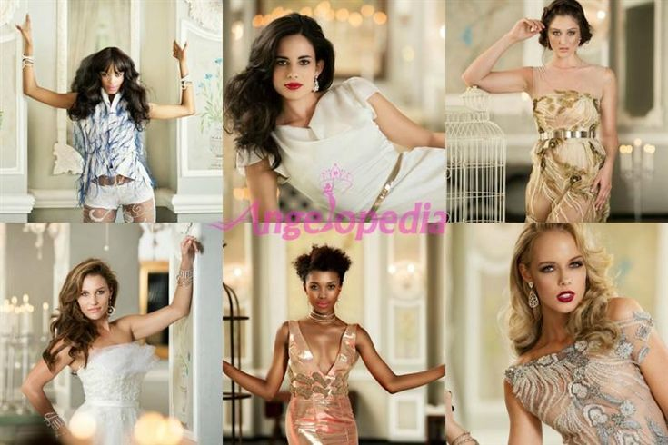 Miss South Africa 2016 finalists in Glamshots