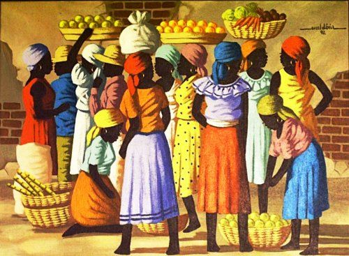 haiti art   Haitian Art For Sale (Various Artists)   Haiti1Stop